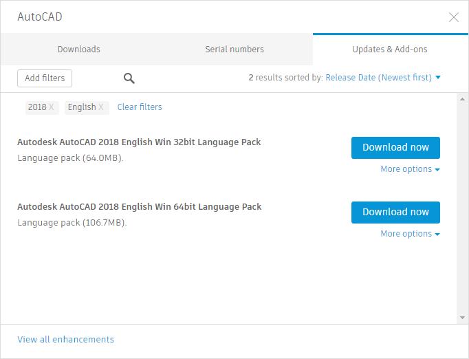 AutoCAD Updates