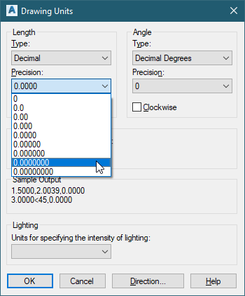 US Survey Feet vs  Feet in AutoCAD - What's going on? - CADD