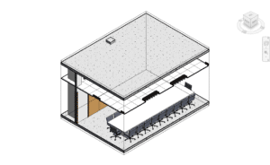 Section box constrained in 3D view in Revit