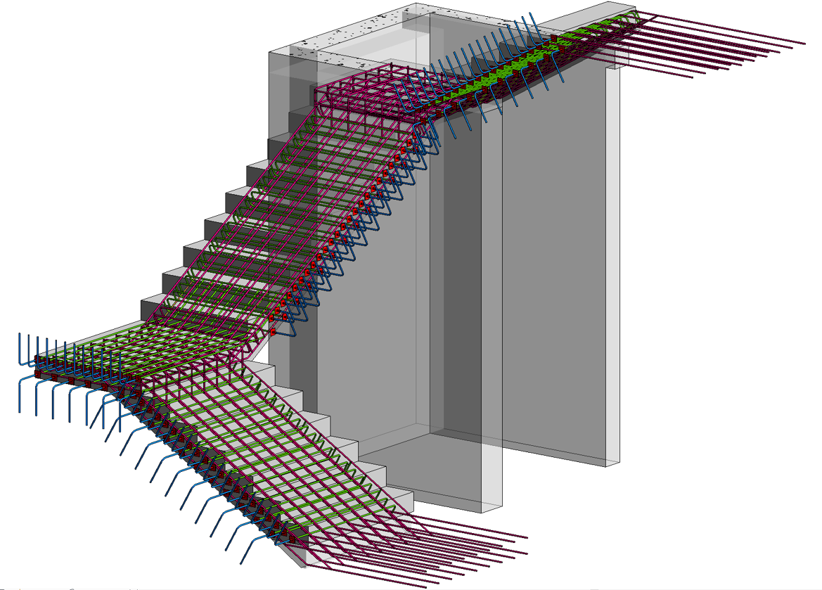 05b-Rebar-in-Model-in-place-Stairs