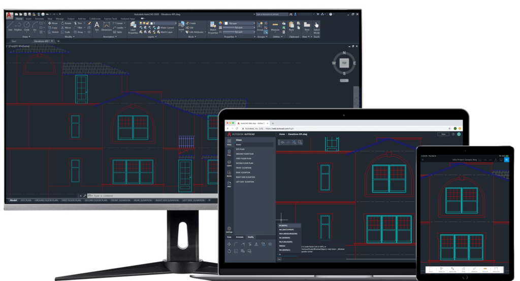 AutoCAD Desktop Web and Mobile