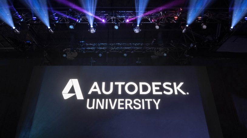 Keynote presentation at Autodesk University 2018 in Las Vegas, NV.