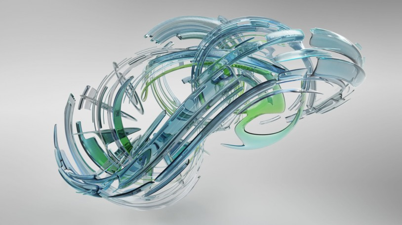 2015 Autodesk corporate non-technical image series. Abstract, non-technical visualization using Autodesk(R) 3ds Max(R) software.