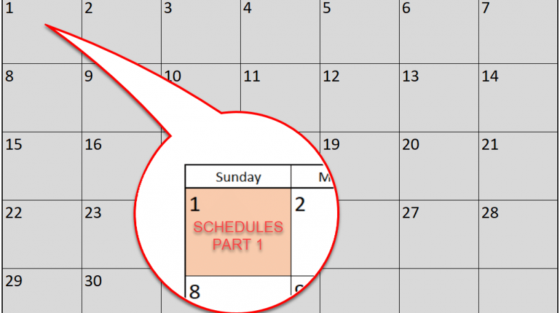 Revit Schedule Series - Part 1 - Overview of Schedule Types - CADD