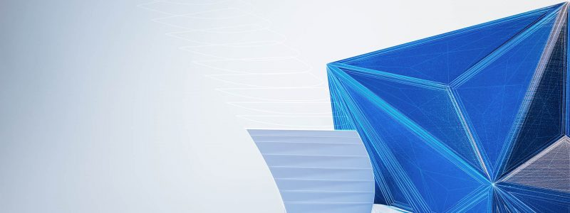 Autodesk corporate brand image series. Pictured object designed and rendered using Autodesk software and fabricated at an Autodesk facility.