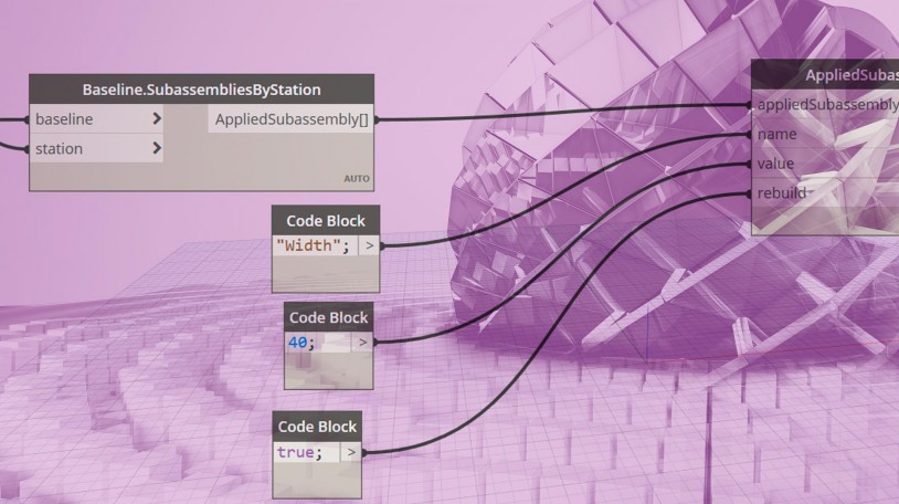 Dynamo for Autodesk Civil 3D 2020