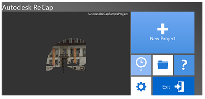 Process point clouds with Autodesk ReCap