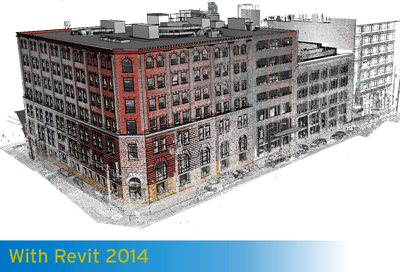 Revit Architecture 2014 - Point Clouds in the 2014 product