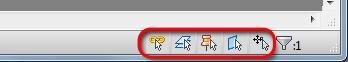 Autodesk Revit 2014 - Using the new selction enhancements.