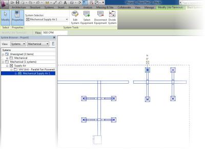 Autodesk Revit MEP 2014 - Dividing Systems