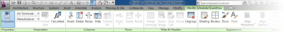 Autodesk Revit MEP 2014 - Accessing Scheduling Enhancements from the Ribbon