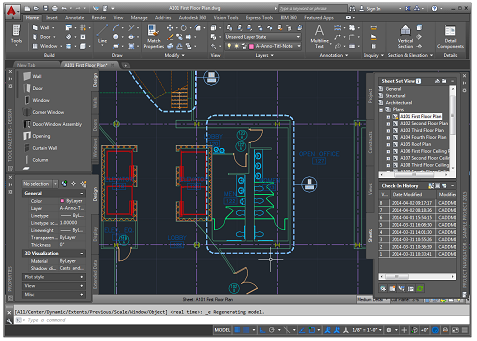 how to get out of full screen autocad